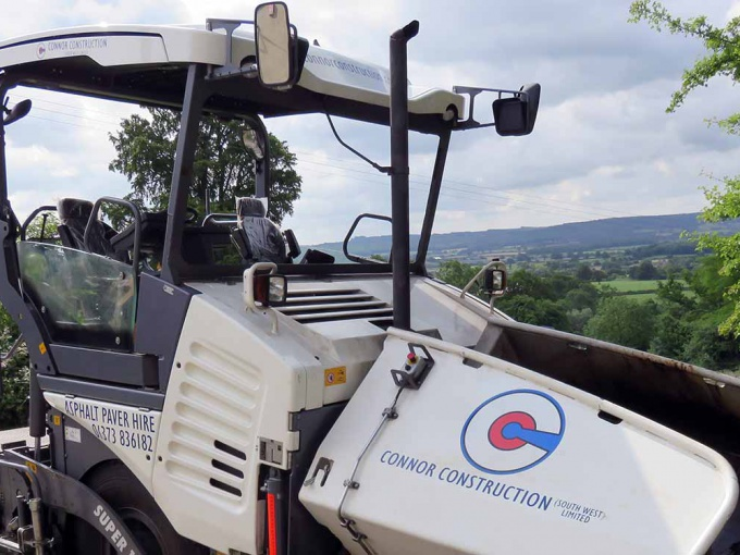 Connor Construction (South West) Ltd Paver Hire, Paver Hire, Planer Hire, Skidsteer Hire, Streetmaster Hire, Roller Hire, Tanker Sprayer Hire, Labour Hire
