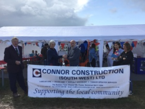 Connor Construction (South West) Ltd winners at Frome Cheese Show